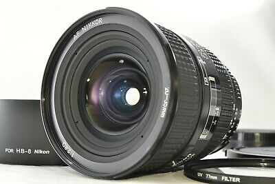 *Near Mint* Nikon AF Nikkor 20-35mm f/2.8 D Lens w/ Hood Filter From Japan #2142
