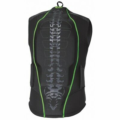 Held Shelter II Black / Green Motorbike Mens Protector Waistcoat | All Sizes