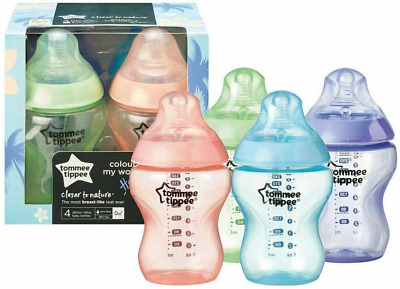 Tommee Tippee Closer to Nature 422588 Colour My World Hawaii Pack of 4 Baby 0