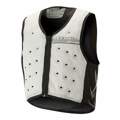 Alpinestars Cooling Grey Moto Motorbike Motorcycle Riding Vest | All Sizes