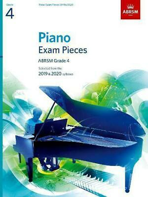 Piano Exam Pieces 2019 & 2020, ABRSM Grade 4: Selected from the 2019 & 2020 syll