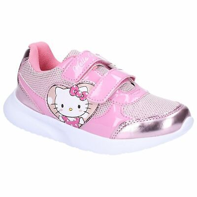 Leomil Girls Hello Kitty Adjustable Lightweight Trainers