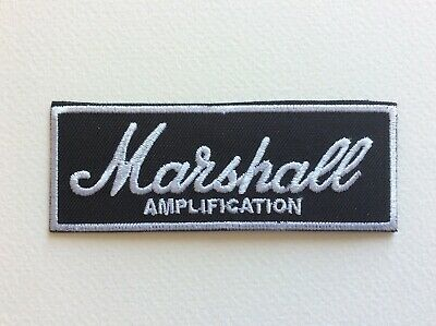 M061 Patch Ecusson Marshall 9,5*3,5 Cm