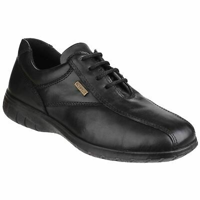 Cotswold Ladies Salford Waterproof Leather Lace Up Shoe