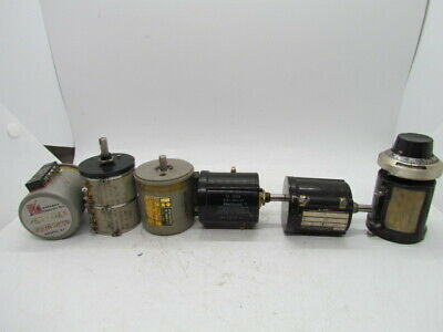 Mixed Lot Of 6 Precision Potentiometer (No Knobs)