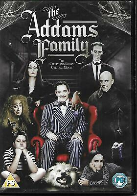 The Addams Family DVD Raul Julia Anjelica Huston Christopher Lloyd