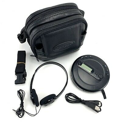 CASELOGIC CD CASE Combo With ONN CD Player-FM Radio and Headphones