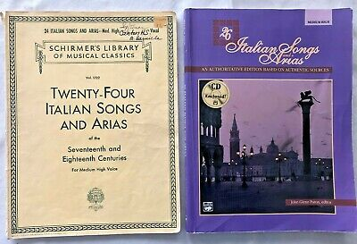 28 Italian Songs /& Arias of the 17th /& 18th Centuries High Voice 050490105