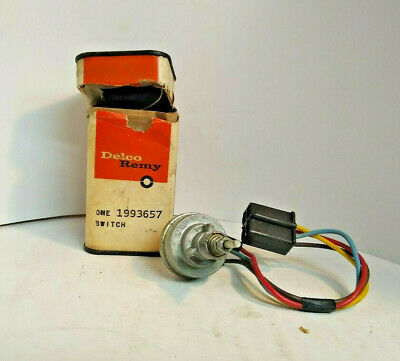 Nos Delco Remy Cruise Control Switch 1993657 Oldsmobile 1964-1967