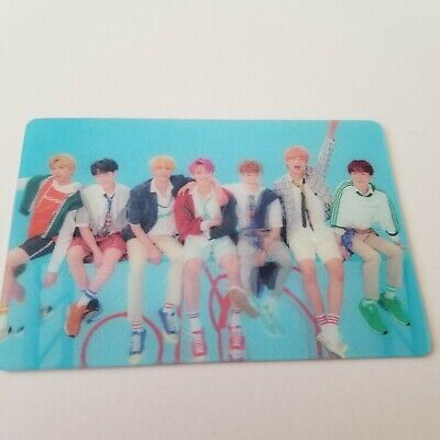 BTS Love yourself Answer Lenticular photocard Speak yourself