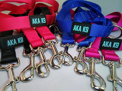 AKA K9 Dog Lead Police Style Leash Multi-Function Double Ended Strong UK Free PP