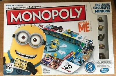 Monopoly Despicable Me Board Game