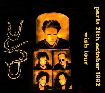 THE CURE LIVE  21.10.1992 Paris - Zenith (France) 2cds
