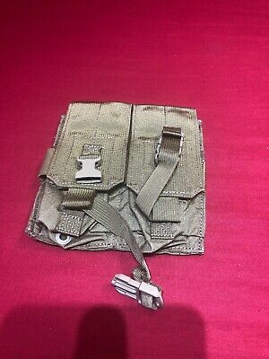 Eagle Industries Double Width 4 Mag Pouch MOLLE PALS 30rd Ammo SOCOM Khaki Tan