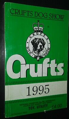 Crufts Dog Show National Exhibition Centre 1995 Toy & Utility Breed Group