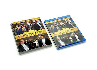DOWNTON ABBEY THE MOTION PICTURE Blu-ray, DVD, & Digital HD w/Slipcover NEW