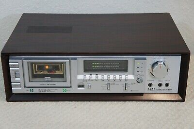 Akai Cs-F33R Stereo Cassette Deck - Bench Checked,Serviced, Tested