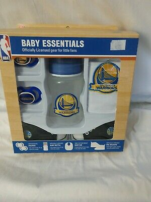 Official Licensed NBA Golden State Warriors Baby Essentials kit