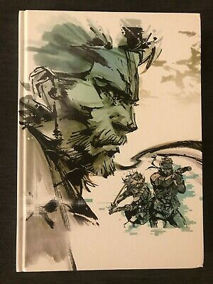 Metal Gear Solid Art Of The HD Collection Hard Cover Book