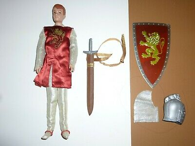 VINTAGE 1960s BARBIE ALLAN DOLL DRESSED IN KING ARTHUR #773 OUTFIT COMPLETE EXC+