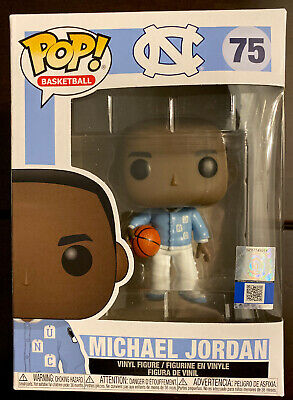 Funko Michael Jordan Pop ! Basketball Universty Of NORTH Carolina (Warm Ups)