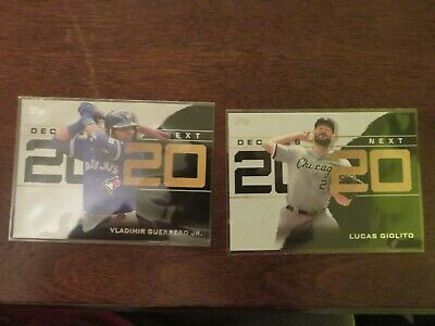 2020 Topps Series 1 INSERT DECADE'S BEST NOW CHOICE You Pick Complete Your Set
