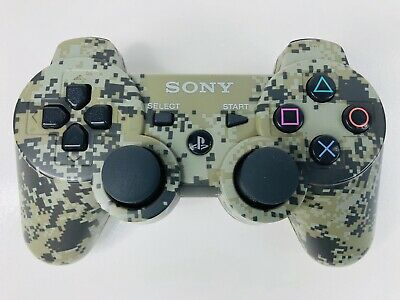 PS3 Sony PlayStation 3 Camo Dualshock 3 Sixaxis Controller