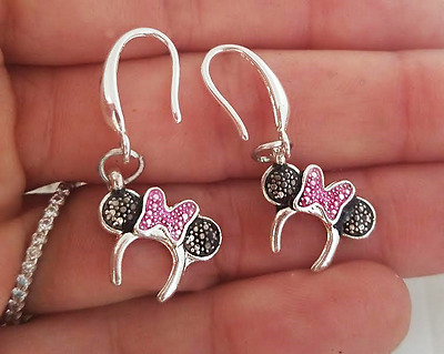 Mickey Minnie Mouse Earrings - Disney Icon Boucles pour Petit Filles Ados Femme