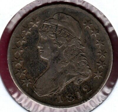 1812 Capped Bust Half Dollar Grades Very Fine #C2877