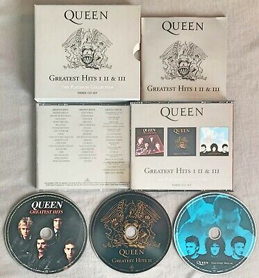 Queen - Greatest Hits I, Ii & Iii: The Platinum Collection ** 2000 Triple Cd Set