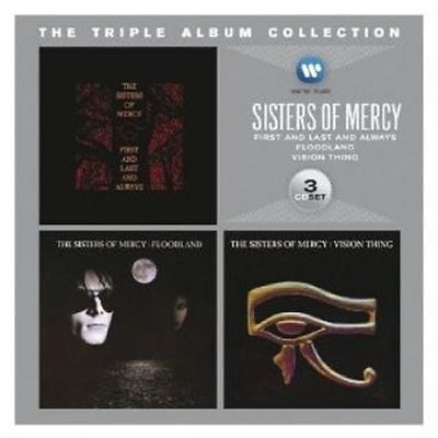 SISTERS OF MERCY 3CD BRAND NEW First And Last And Always/Floodland/Vision Thing