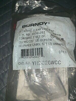 Burndy H-Crimpit Clear Cover Kit (Yh2C2Cwcc / 10061252)