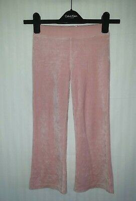 Girls RALPH LAUREN Velour Tracksuit Bottoms Age 6 Years