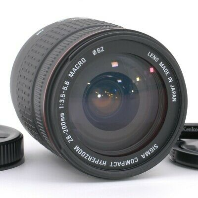 Sigma 28-200mm D f/3.5-5.6 Aspherical Macro Compact Hyperzoom for Sony Minolta