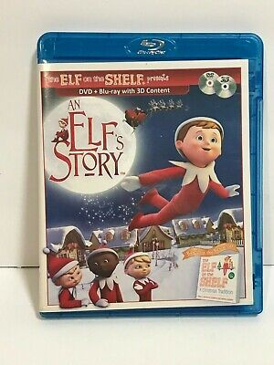 Elf On The Shelf An Elfs Story Blu-ray +DVD Christmas Movie 2011 Great Condition
