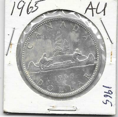 1965 Pl Canadian Silver Dollar (Very Nice)
