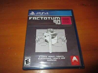 Factotum 90 (PS4, 2017) BRAND NEW, SEALED! LIMITED RUN GAMES