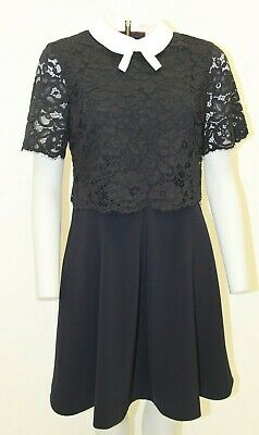 Gorgeous Navy Dress By Ted Baker . , Size 14 , New