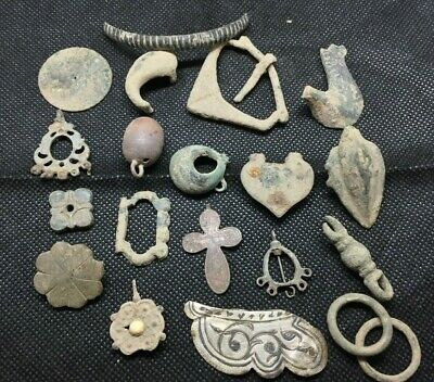 LOT OF PREHISTORIC ANCIENT MEDIEVAL CELTIC ROMAN VIKING ARTIFACTS FOR RESEARCH a