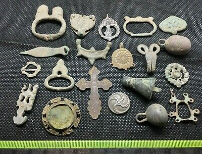 LOT OF PREHISTORIC ANCIENT MEDIEVAL CELTIC ROMAN VIKING ARTIFACTS FOR RESEARCH g