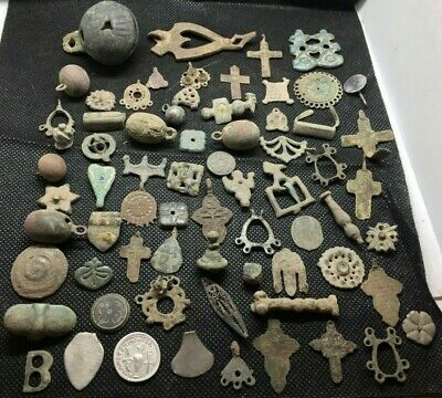 LOT OF PREHISTORIC ANCIENT MEDIEVAL CELTIC ROMAN VIKING ARTIFACTS FOR RESEARCH h