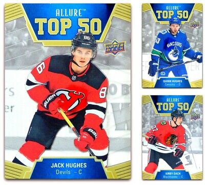 2019-20 UD Allure Top 50 **** PICK YOUR CARD **** From The LIST