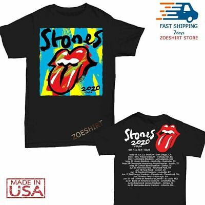 NEW The Rolling Stones t Shirt No Filter Tour 2020 T-Shirt Size S-3XL