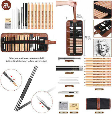 Sketching Pencil Set, 29 Pieces Drawing Sketch Pencils Set set