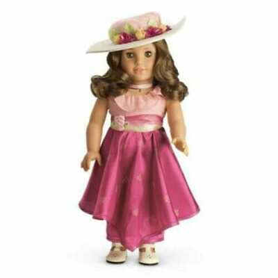 American Girl Doll REBECCA'S MOVIE DRESS & HAT OUTFIT New in box