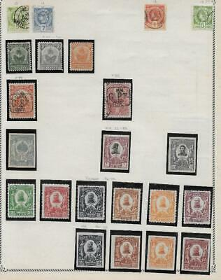 22 Haiti Stamps from Quality Old Album