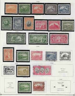 22 Haiti Stamps from Quality Old Album 1920-1940