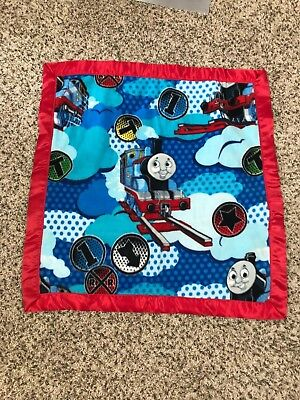 """Unbranded Baby Boy Blanket Thomas & Friends Multicolored 29""""x29"""""""
