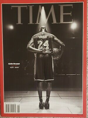 TIME Magazine KOBE Bryant Mamba Los Angeles Lakers 1978-2020 SHIP NOW!