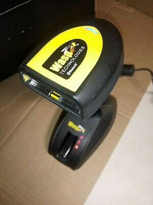 FREE SHIP Wasp WWS800 Bluetooth Barcode POS Scanner Charger 2 batteries